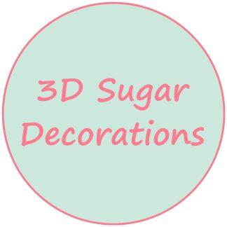 3D Sugar Decorations