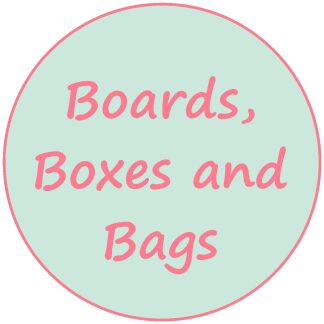 Boards; Boxes and Bags