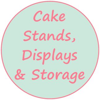 Cake Stands; Displays and Storage
