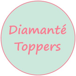 Diamanté Toppers