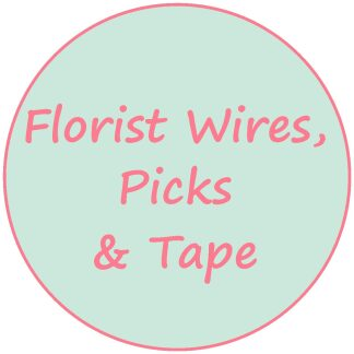 Florist Wires; Picks and Tape