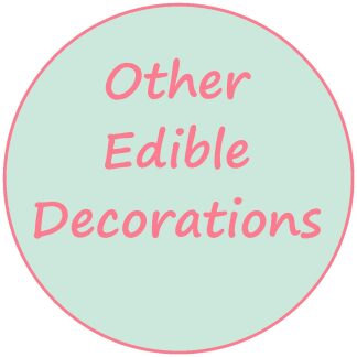 Other Edible Decorations