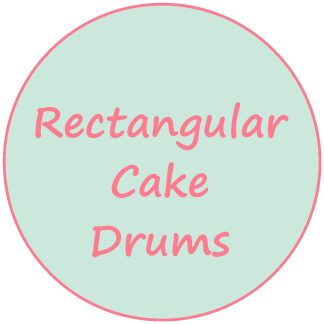 Rectangular Cake Drums