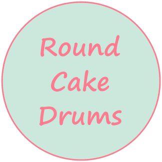 Round Cake Drums