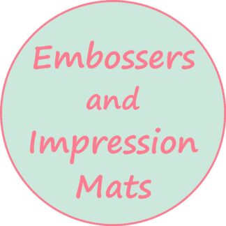 Embossers and Impression Mats