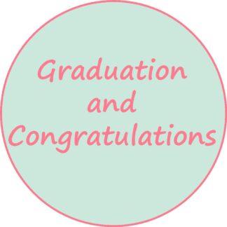 Graduation and Congratulations
